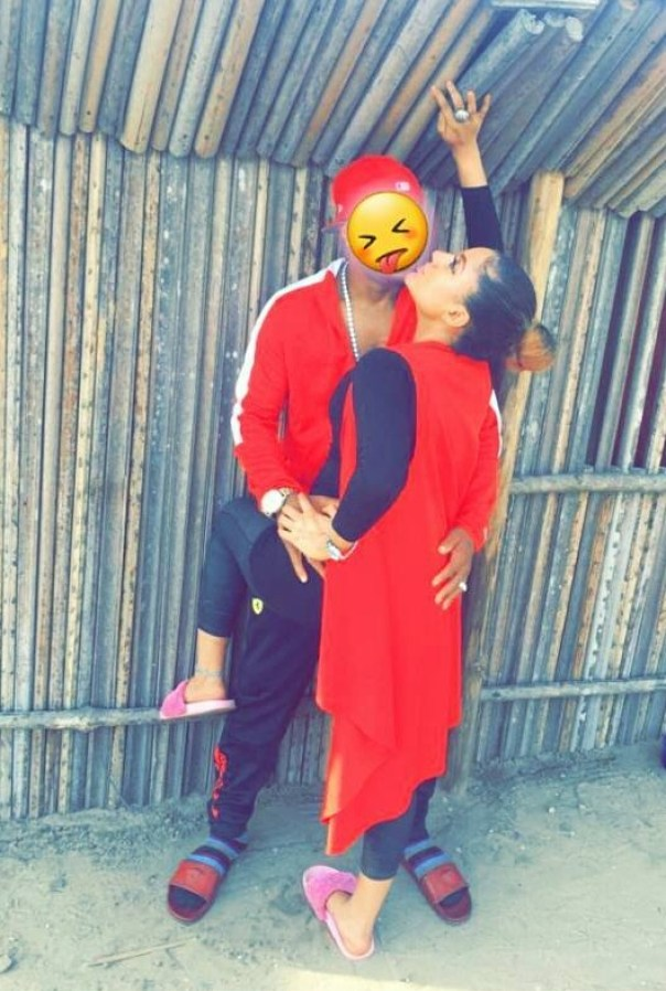 Gifty Powers Sparks Relationship Rumours With Charles Okocha With Kissing Photo (2)