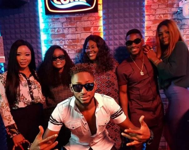 Cee-C With Big Brother Naija Ex-Housemates (2)