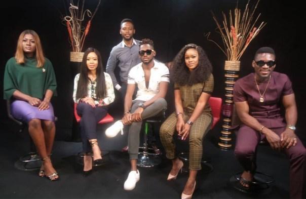 Cee-C With Big Brother Naija Ex-Housemates