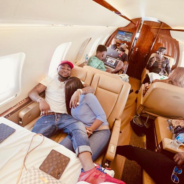 Davido And Chioma Reunite After Atlanta Trip (2)