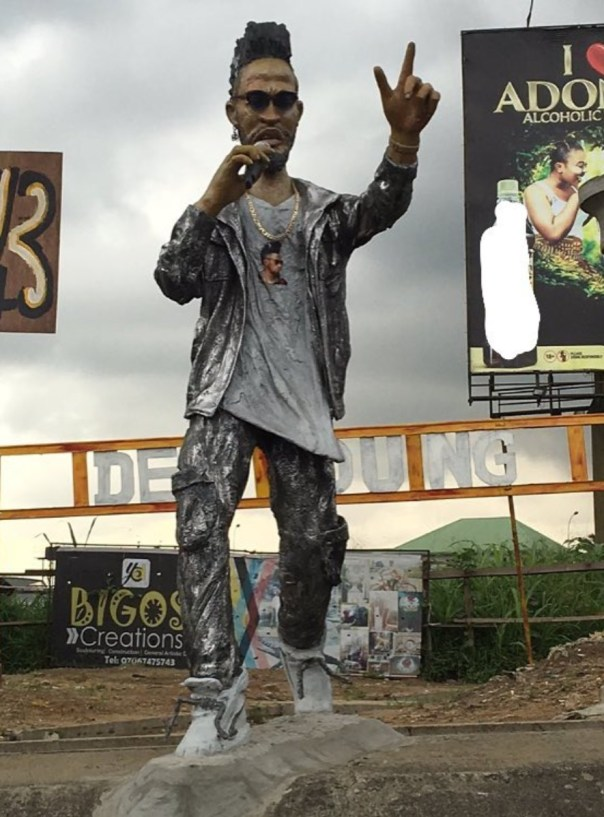 Phyno Statue Erected In Eleme (2)