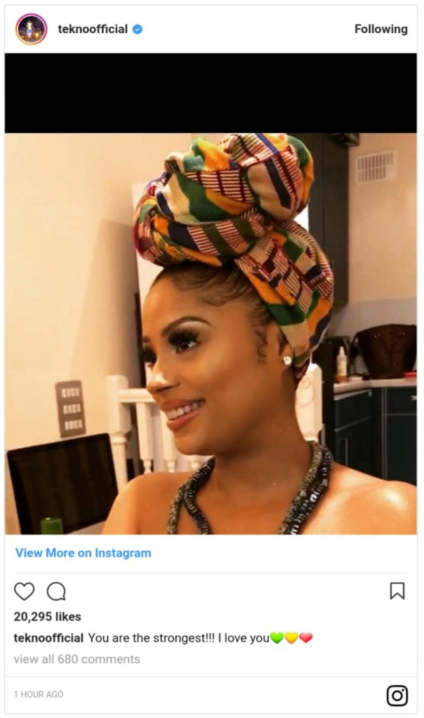 Tekno And His Lola Rae Welcome Baby (3)