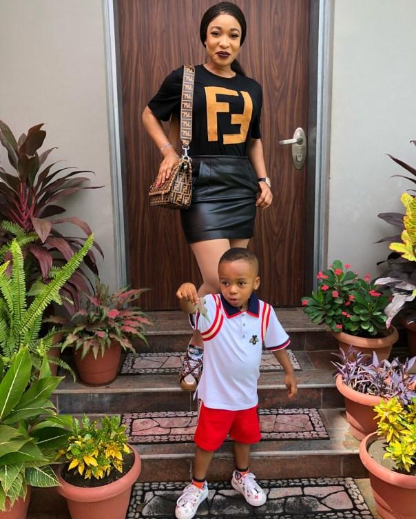 Tonto Dikeh Steps Out In N248K Fendi T-Shirt (4)
