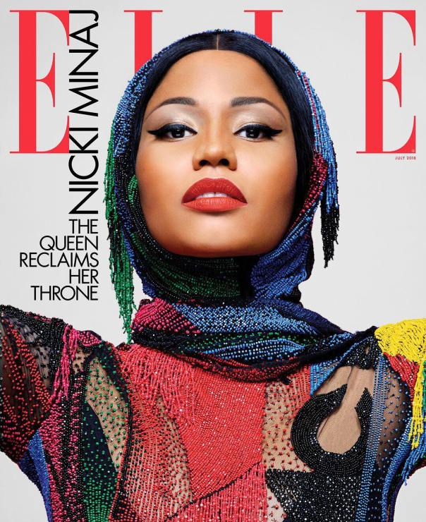 Nicki Minaj Covers Elle Magazine