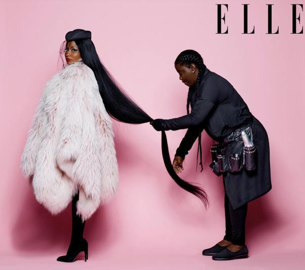 Nicki Minaj Covers Elle Magazine (3)