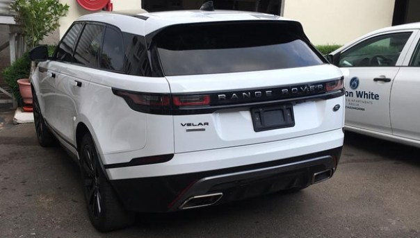Ahmed Musa purchases 2018 Range Rover Velar (5)