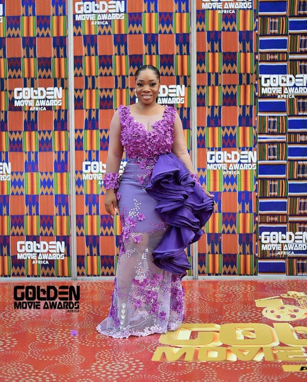 Moesha Boduong At 2018 Golden Movie Awards Africa (2)