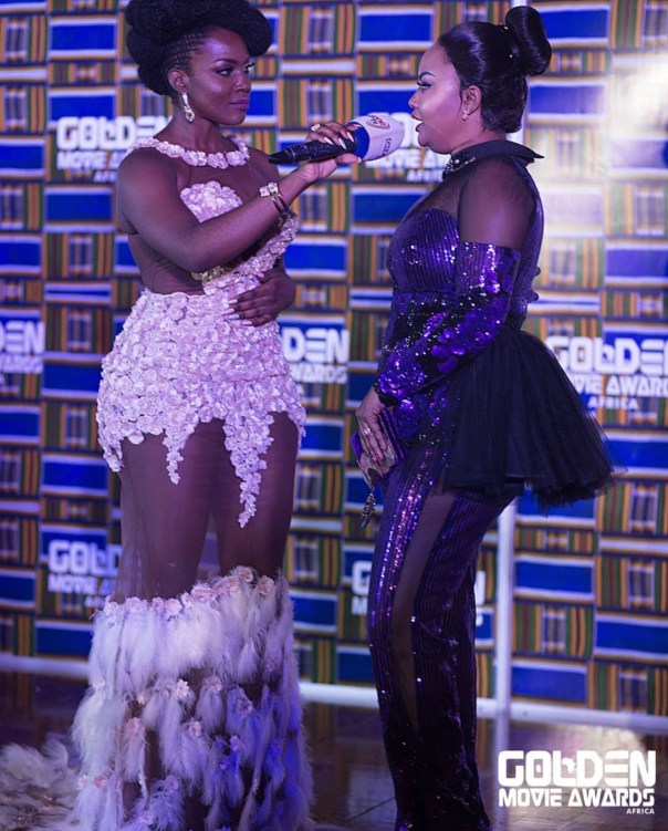 Nana Ama McBrown Golden Movie Awards Africa