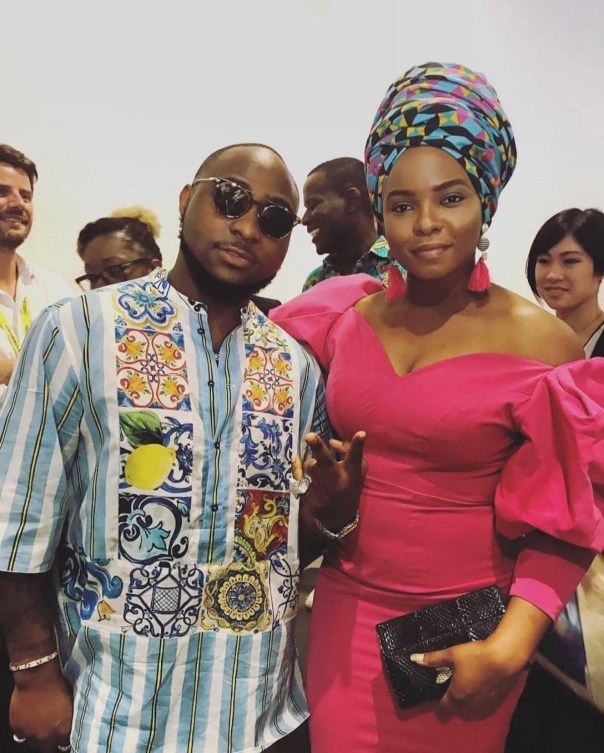 Davido And Yemi Alade Pictured Together In Cannes (2)