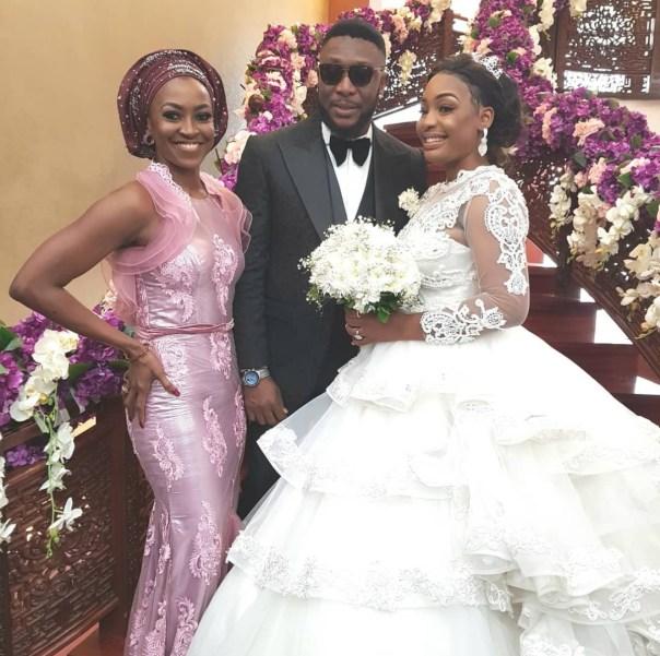 Tchidi Chikere And Nuella Njubigbo Wed In Church (7)
