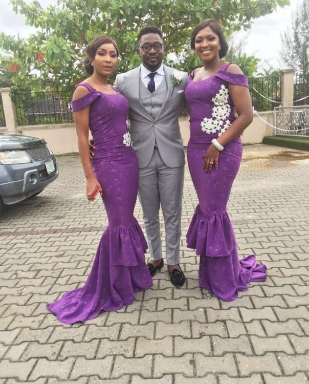 Tchidi Chikere And Nuella Njubigbo Wed In Church (9)