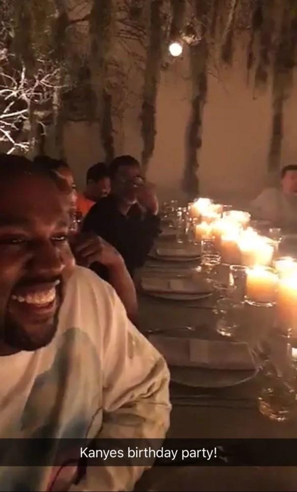 Kanye West Celebrates 41st Birthday (2)