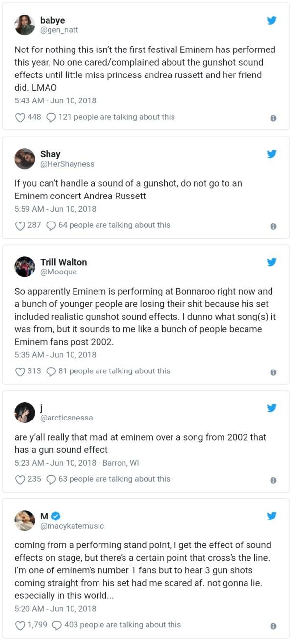 Eminem Criticized For Using Gunshot Sound Effects (2)