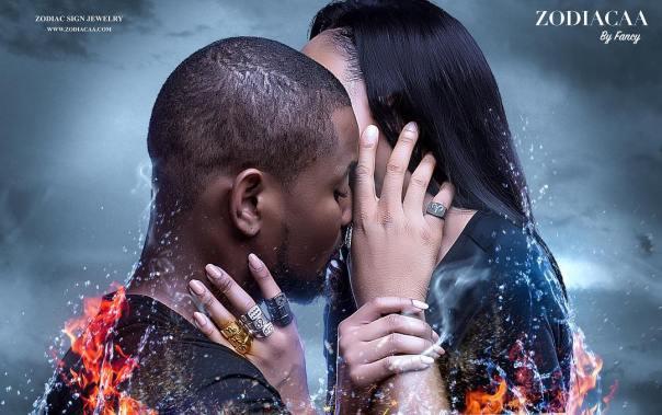 Alex Ekubo And Fancy Acholonu Steamy Shoot To Launch Jewelry Line (2)