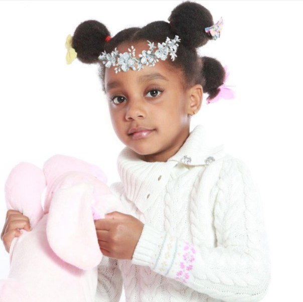 Asamoah Gyan And Wife Gifty Celebrate Daughter On Her Birthday (2)