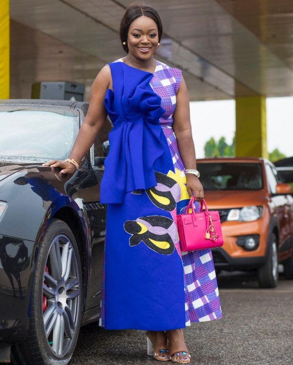 Jackie Appiah Honoured At The Legendary Awards