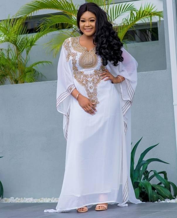 Rachael Okonkwo Stuns In Abaya Dress