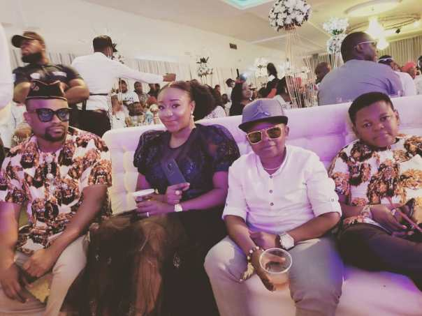 Ini Edo Pictured Alongside Chinedu Ikedieze And Osita Iheme With Okon Lagos (2)