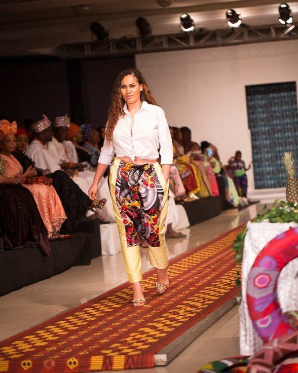 Caroline Danjuma Walks The Runway Ire Clothings
