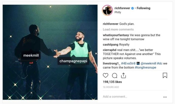Rick Ross Reacts To Drake And Meek Mill Ending Their Feud (2)