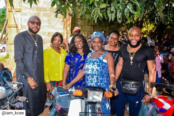 Kcee And E-money Give Out Car And Motorcycles (2)