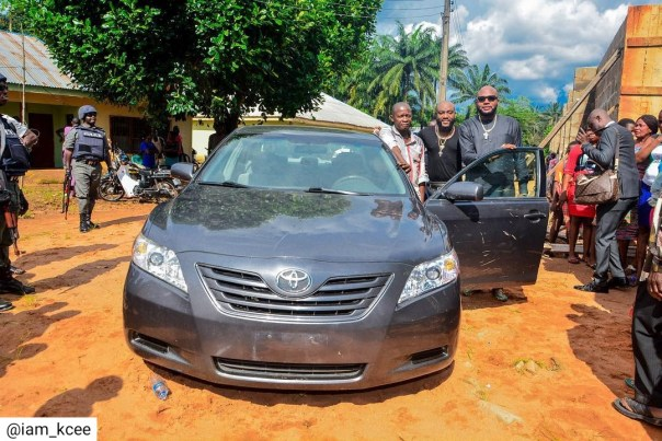 Kcee And E-money Give Out Car And Motorcycles (5)