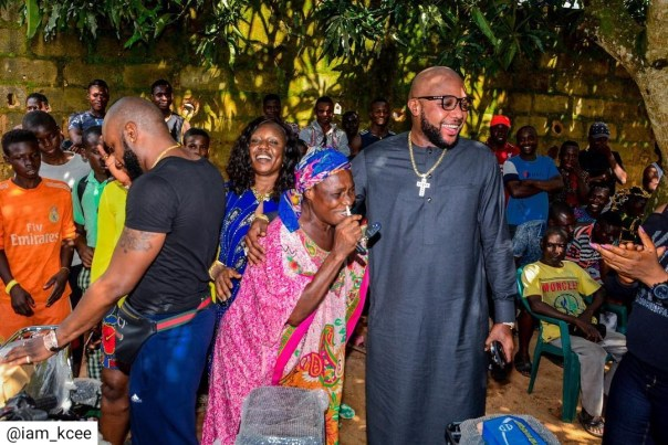 Kcee And E-money Give Out Car And Motorcycles (4)