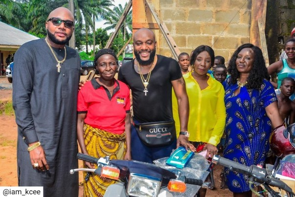 Kcee And E-money Give Out Car And Motorcycles (3)