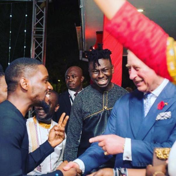 Tobi Bakre Meets Prince Charles In Ghana (2)
