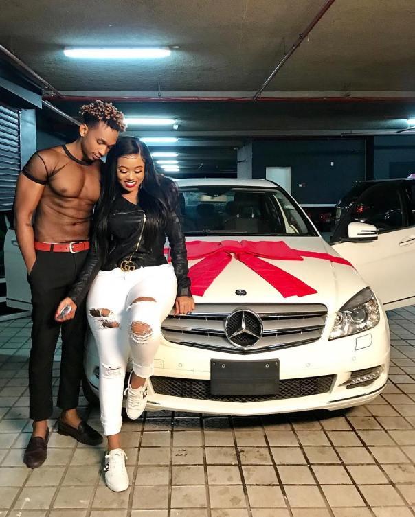 Vera Sidika Buys Calisah Brand New Mercedes (4)