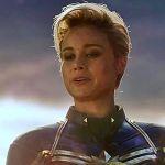 映画『アベンジャーズ/エンドゲーム』から赤いスカーフを着用する『キャプテン・マーベル』のコンセプトアートが公開