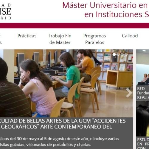 Máster Educación Artística en Instituciones Sociales y Culturales
