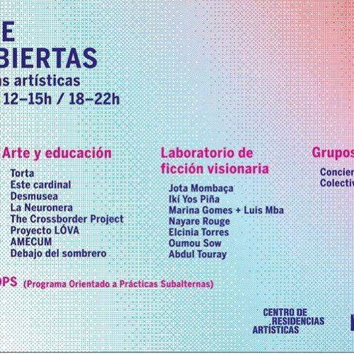 Open Lab · Centro de residencias artísticas