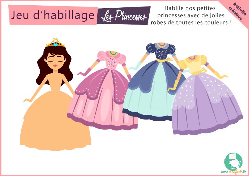 habille ta princesse robes de