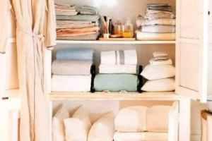 Armario de ropa blanca