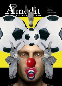 "Cover Amedit n. 15 - Giugno 2013. ""an Alphabet"" by Iano."