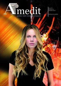 """Cover Amedit n. 25 - Dicembre 2015 """"Célestine"""" by Iano"""