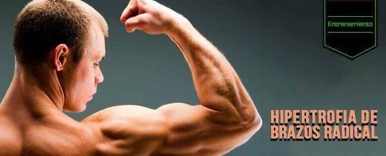 Cómo lograr hipertrofia de brazos radical