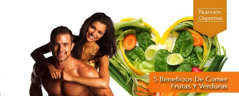 5 beneficios de comer frutas y verduras