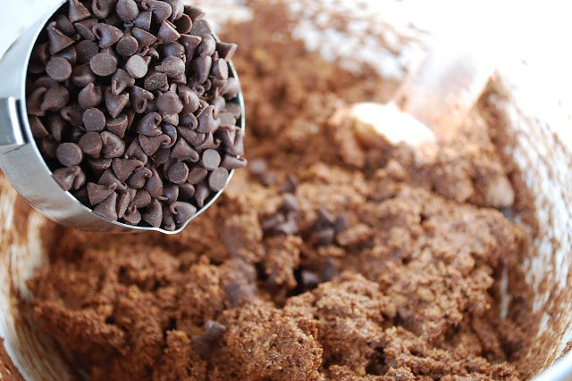 Chocolate Chips for double chocolate muffins