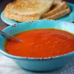 Homemade Tomato Basil Bisque without cream