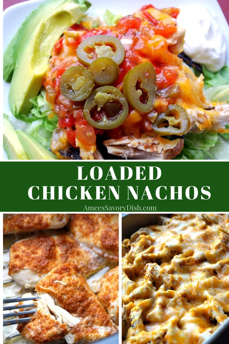 Loaded Chicken Nachos recipe