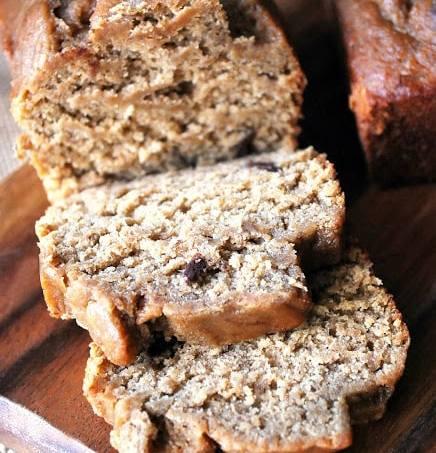 Wheat Free Dark Chocolate Chip Banana Bread
