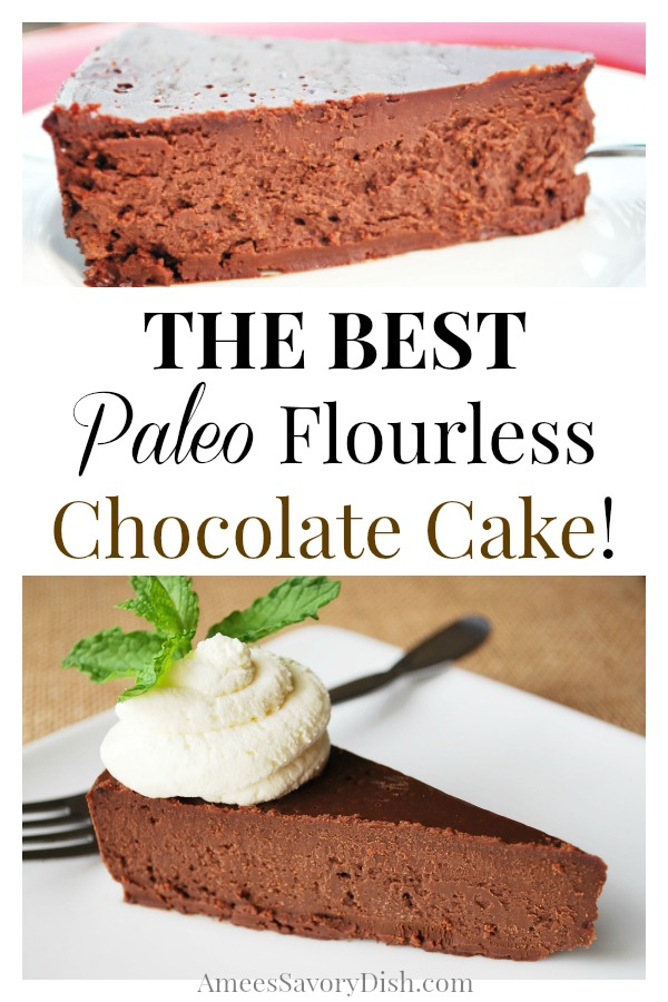 The best Paleo flourless chocolate cake recipe to satisfy your sweet tooth!