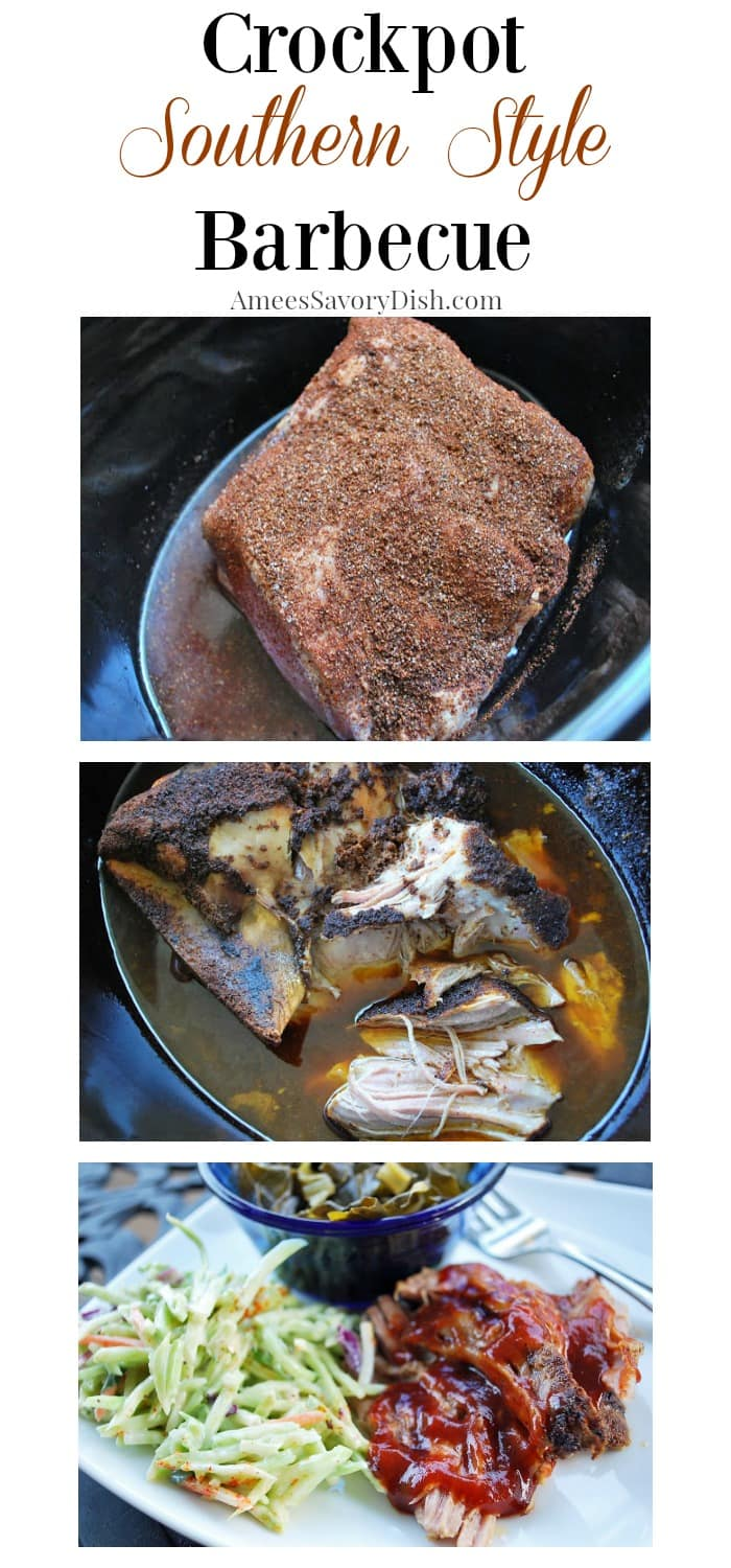 Crockpot Southern Style Barbecue recipe