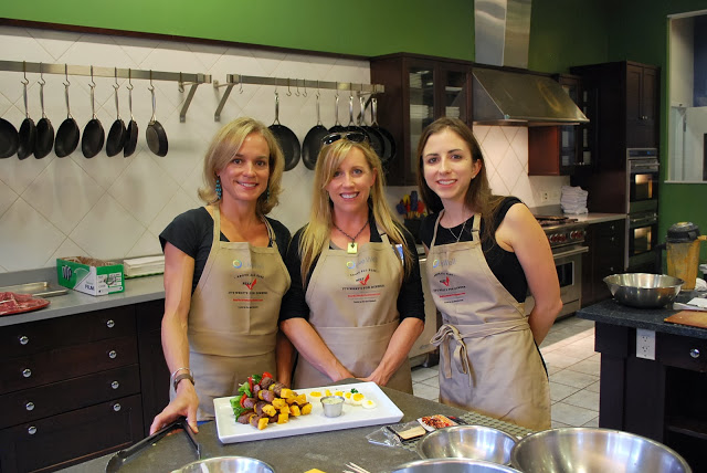 Food Bloggers at the Live Well Cooking Challenge