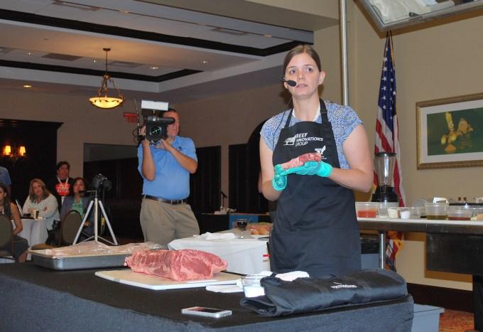 beef cutting demo