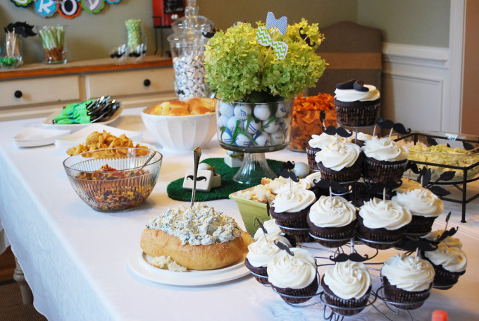 Southern Baby Shower Food