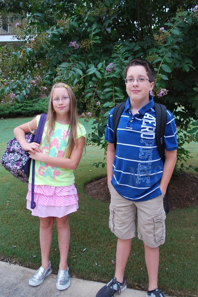 Allen and L first day