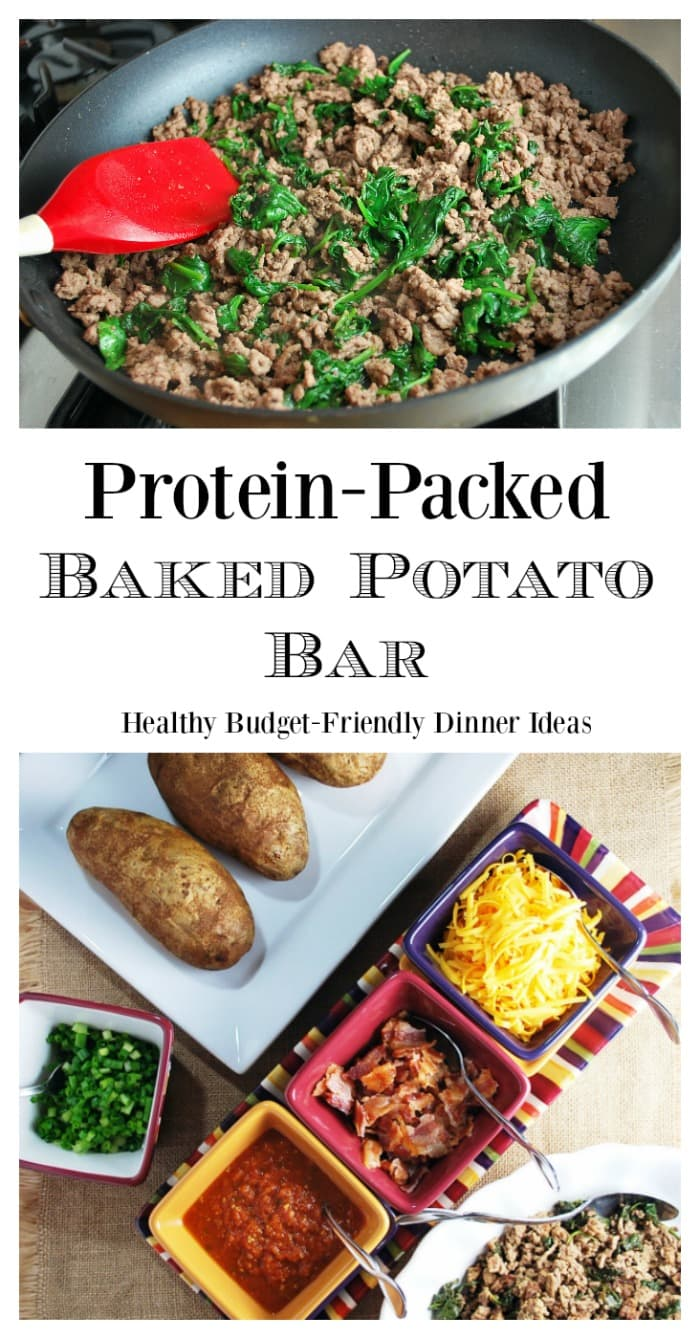 Protein Packed Baked Potato Bar